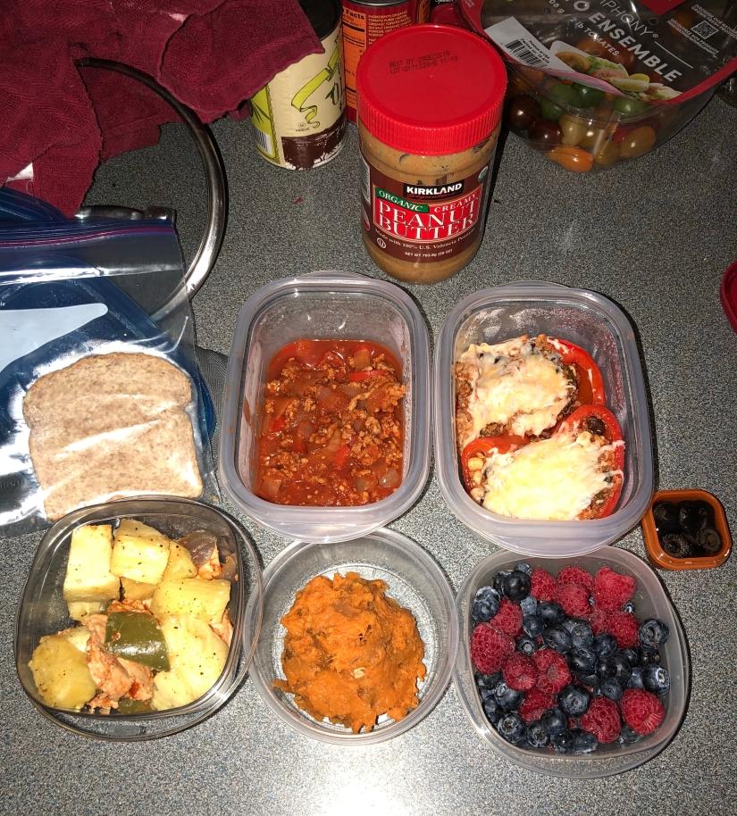 Week 2 foods