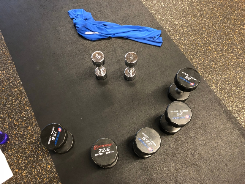 All the weights